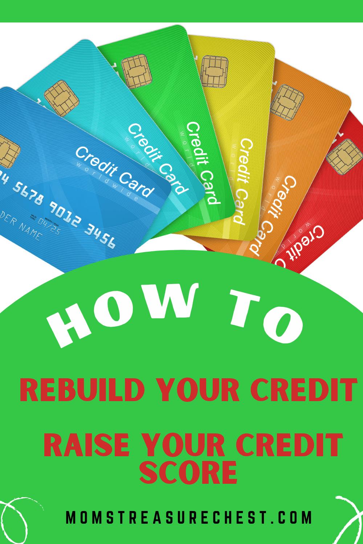 Rebuild credit Secured Credit card