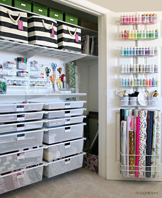 Craft Supplies Storage Ideas