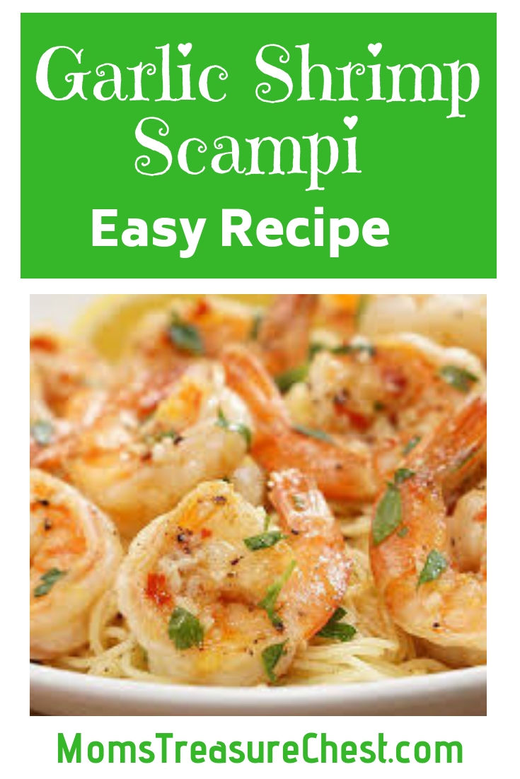 Easy Recipe Garlic Shrimp Scampi
